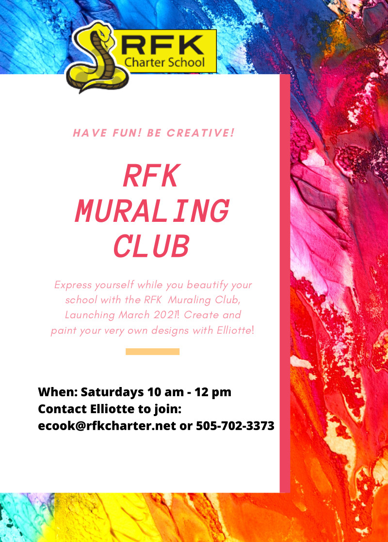Mural Club Flyer (english)