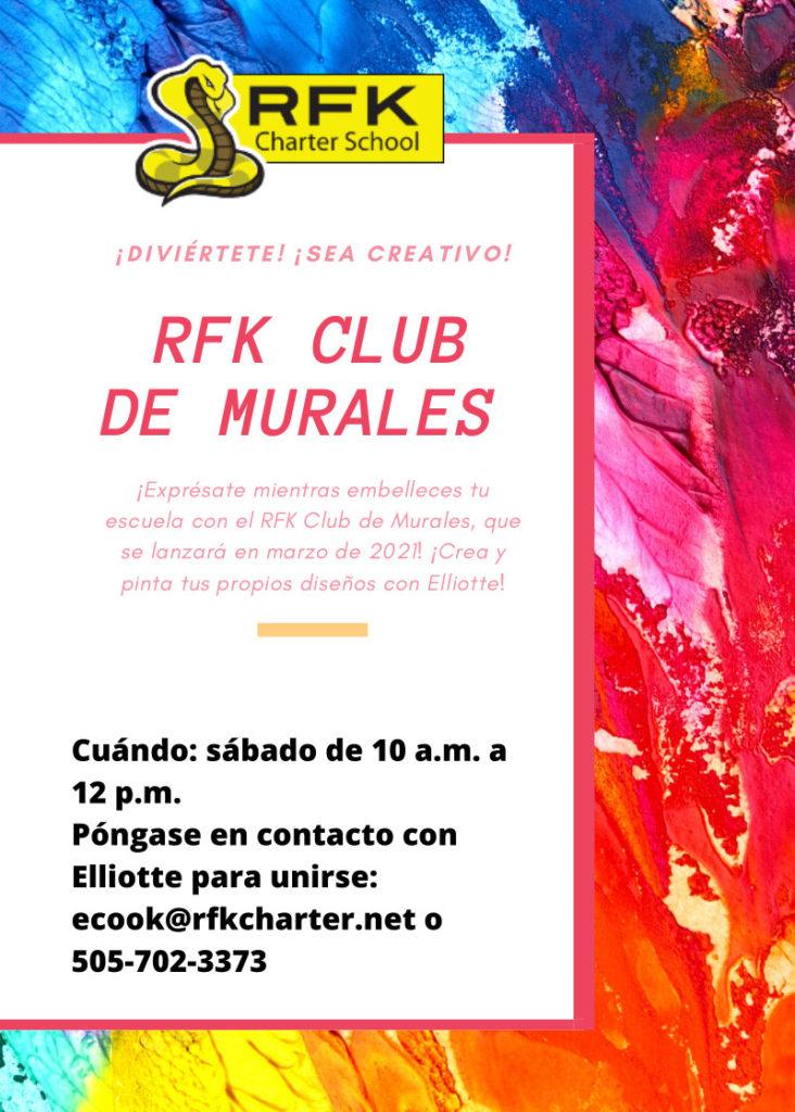 Mural Club Flyer (spanish)