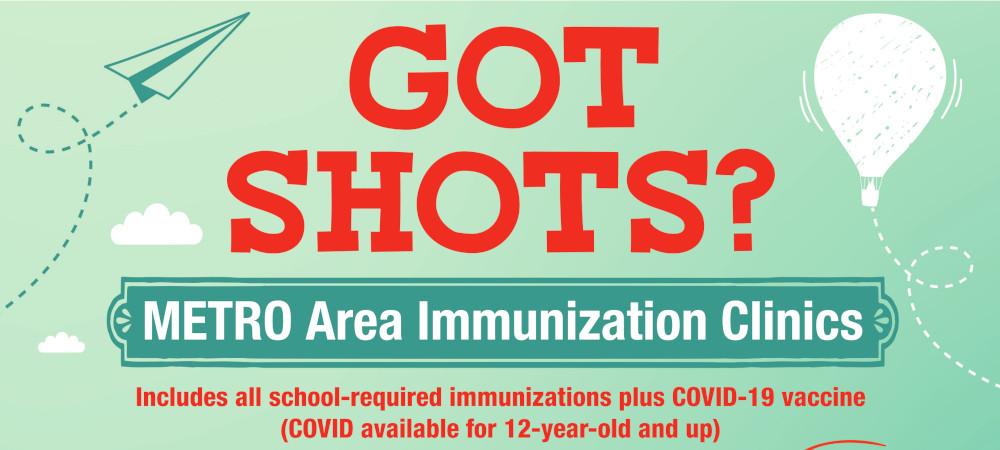 Metro Area Immunization Clinics